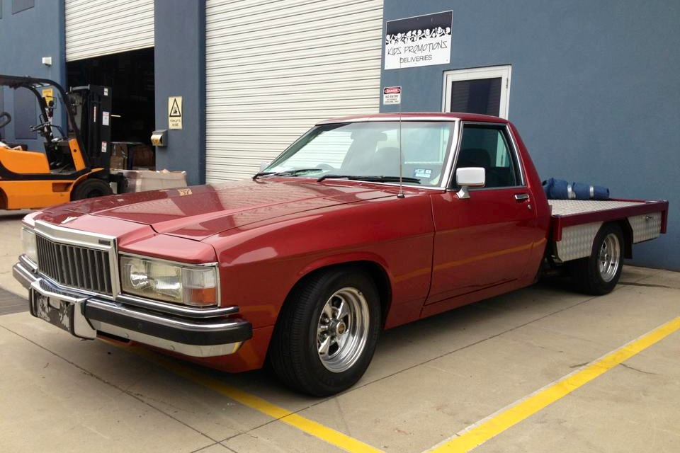 1992-GMC-Holden-flat-bed-pickup