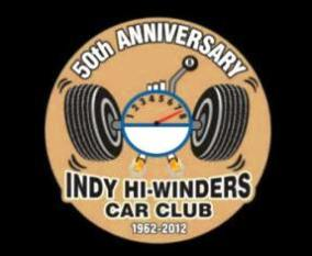 Indy Hi winders 50th anniversary logo