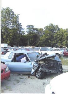 Terry Engle Car Crash pic